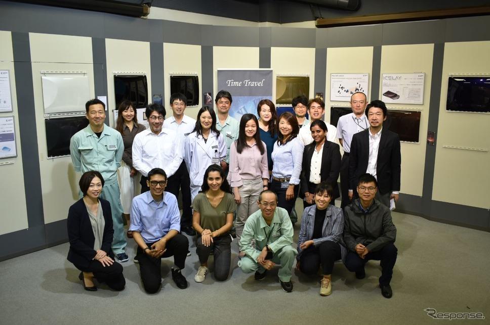グローバルカラートレンド会議《写真提供 関西ペイント》