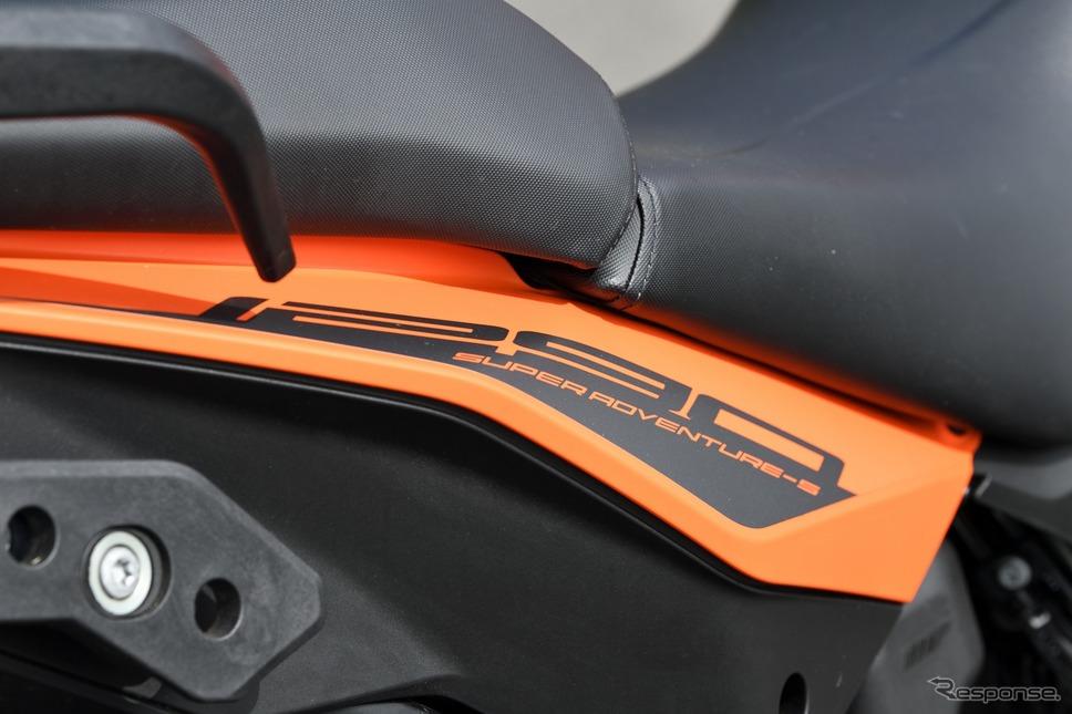 KTM 1290スーパーアドベンチャーS《写真撮影 雪岡直樹》