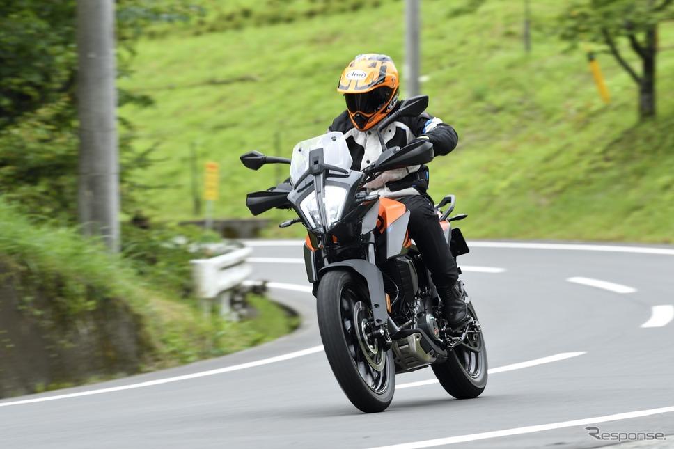 KTM 390アドベンチャー《写真撮影 雪岡直樹》