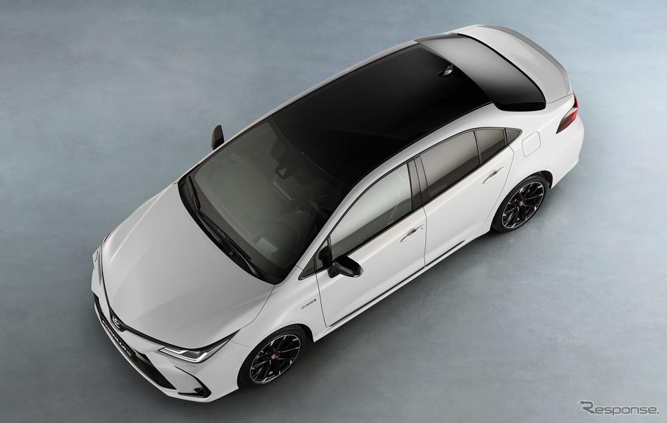 トヨタ・カローラ・セダン 新型 のGR SPORT(欧州仕様)《photo by Toyota》