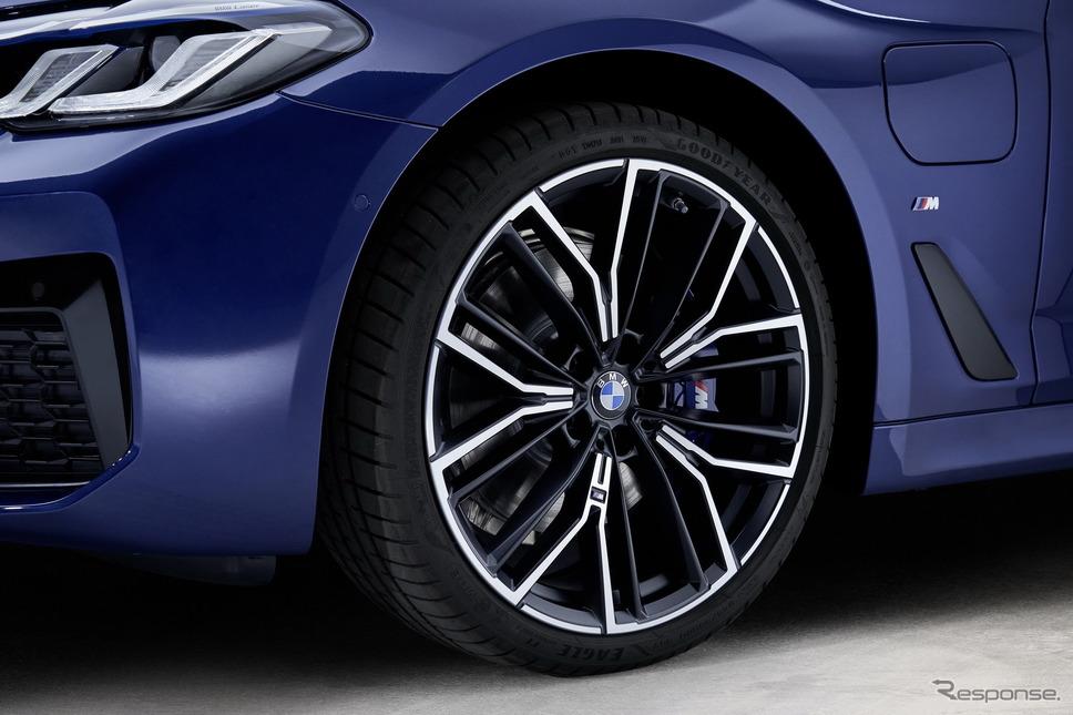 BMW 5シリーズ・セダン 改良新型のPHV「530e」(参考)《photo by BMW》