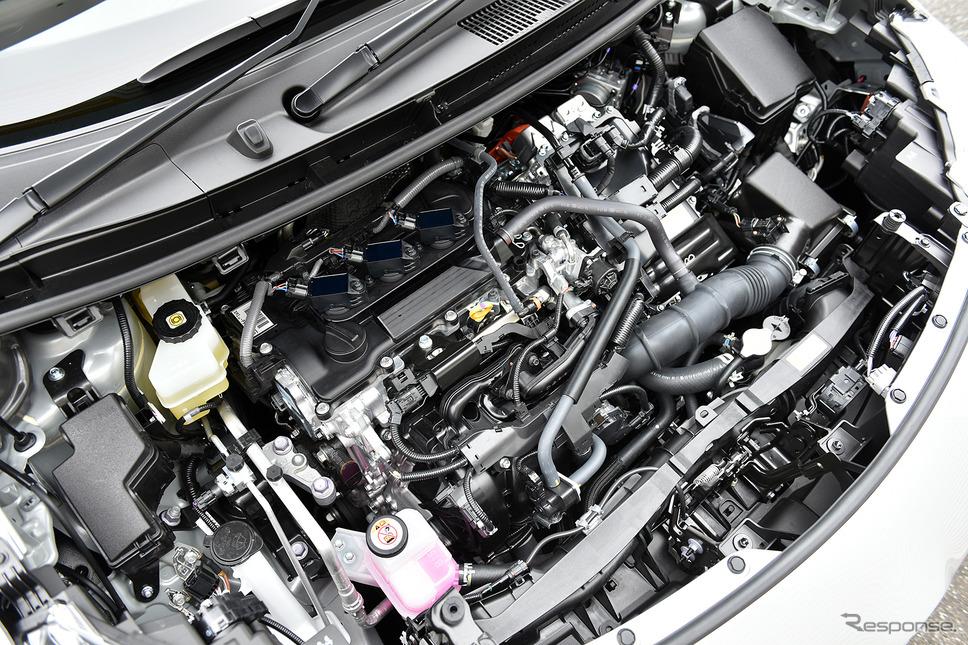 トヨタ ヤリスクロス のハイブリッドエンジン(プロトタイプ)《写真撮影 中野英幸》