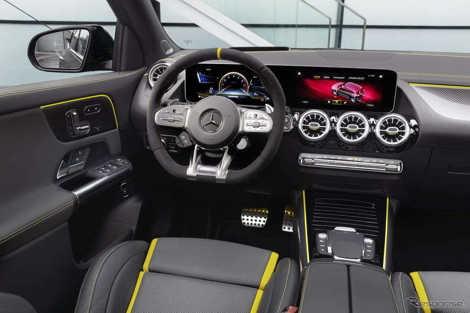 メルセデスAMG GLA45 S 4MATIC+ 新型《photo by Mercedes-Benz》