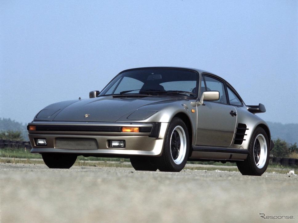"""ポルシェ911(930)ターボ""""フラットノーズ""""《photo by Porsche》"""
