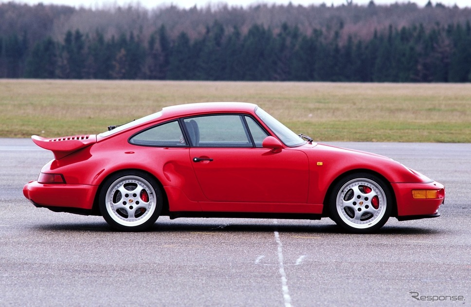ポルシェ911(964)ターボ3.6《photo by Porsche》