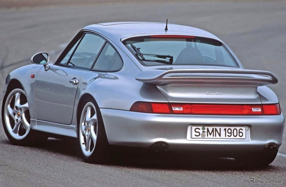ポルシェ911(993)ターボS3.6《photo by Porsche》