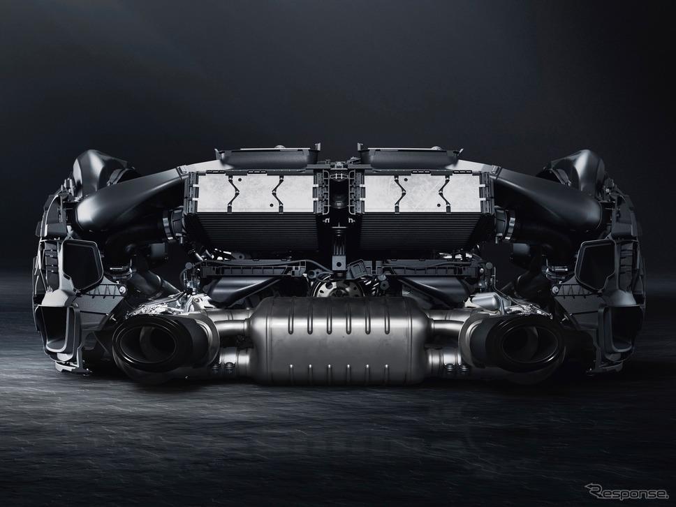 ポルシェ911(992)ターボS:3.8リットル水平対向6気筒エンジン《photo by Porsche》
