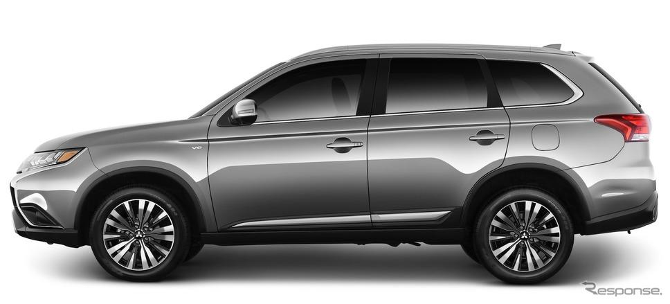 三菱 アウトランダー の2020年モデル(米国仕様)《photo by Mitsubishi Motors》