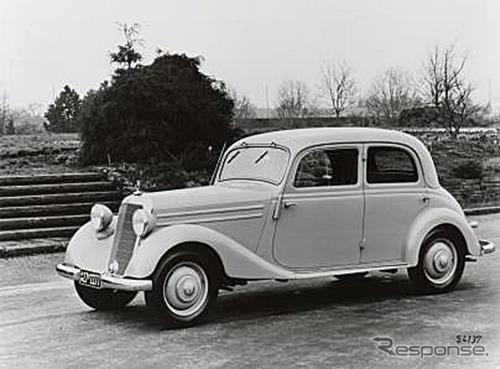 1952年に初輸入されたメルセデス・ベンツ 170V《写真提供 ヤナセ》