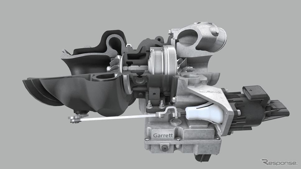 メルセデスAMG車に採用されるギャレット・モーションの「Eターボ」《photo by Garrett Motion》