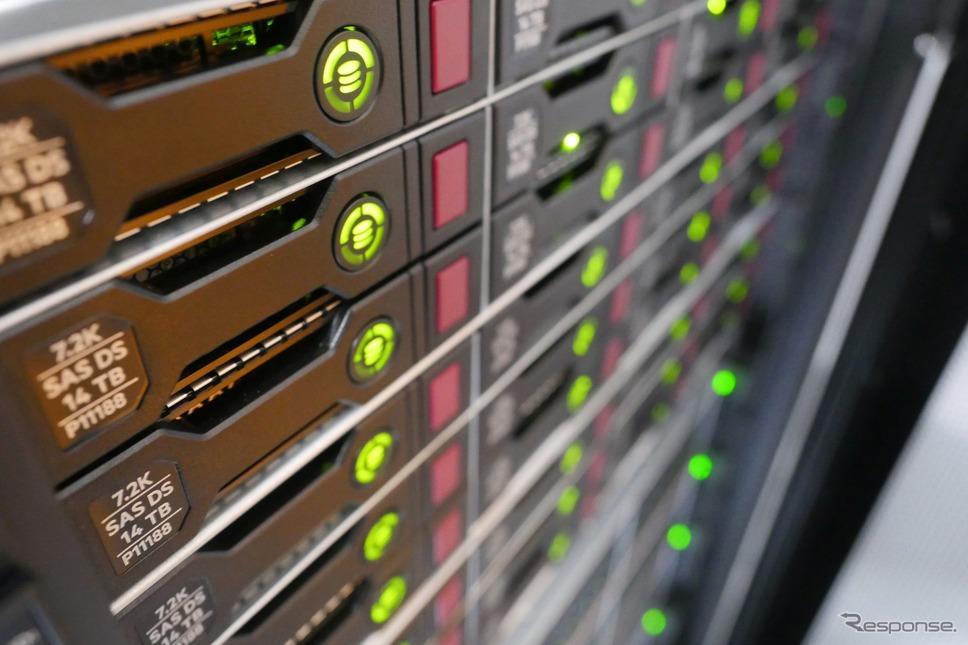 コンチネンタルが車両のAIシステム開発用にエヌビディアの技術を導入した構築した自社のスーパーコンピューター《photo by Continental》