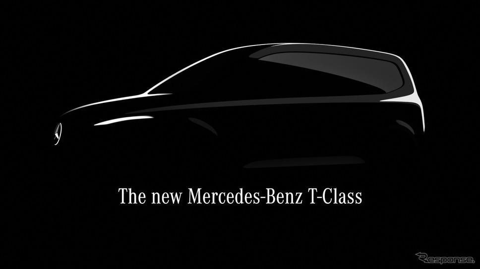 メルセデスベンツ Tクラス のティザーイメージ《photo by Mercedes-Benz》