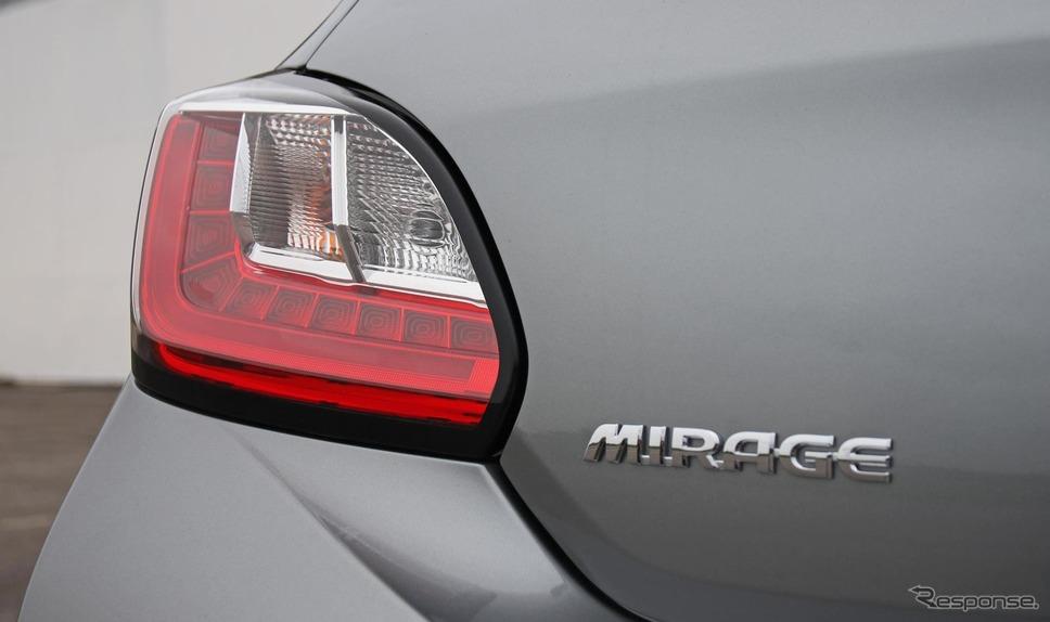 三菱 ミラージュ 改良新型(欧州仕様)《photo by Mitsubishi Motors》
