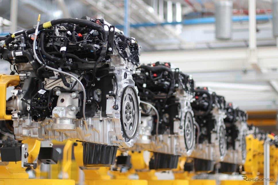 ジャガー・ランドローバーの「インジニウム」エンジン《photo by Jaguar Land Rover》