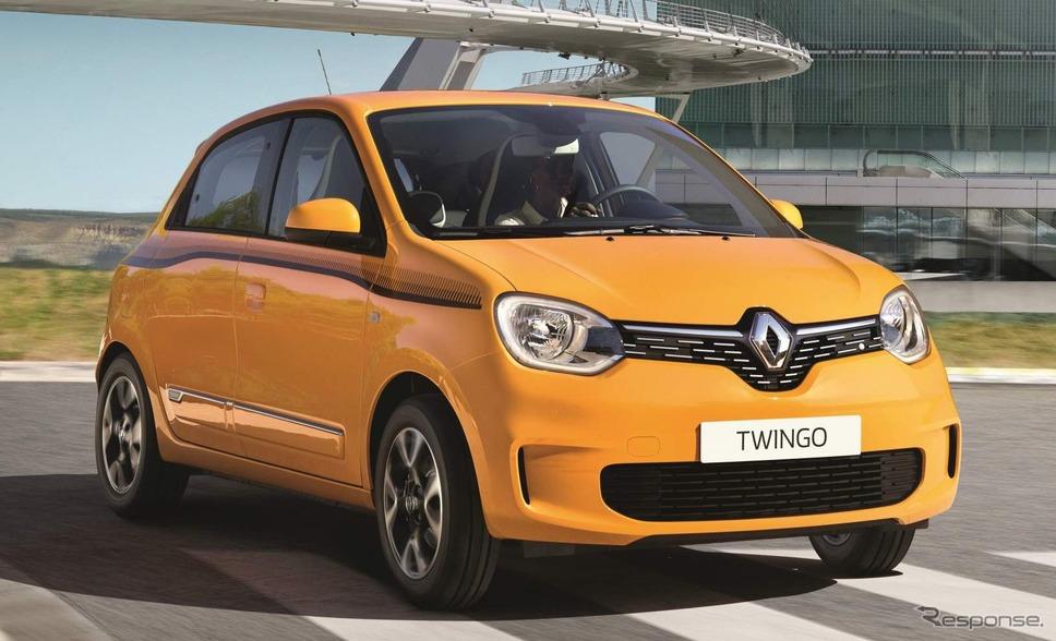 業績が悪化しているルノー。写真はトゥインゴ《photo by Renault》