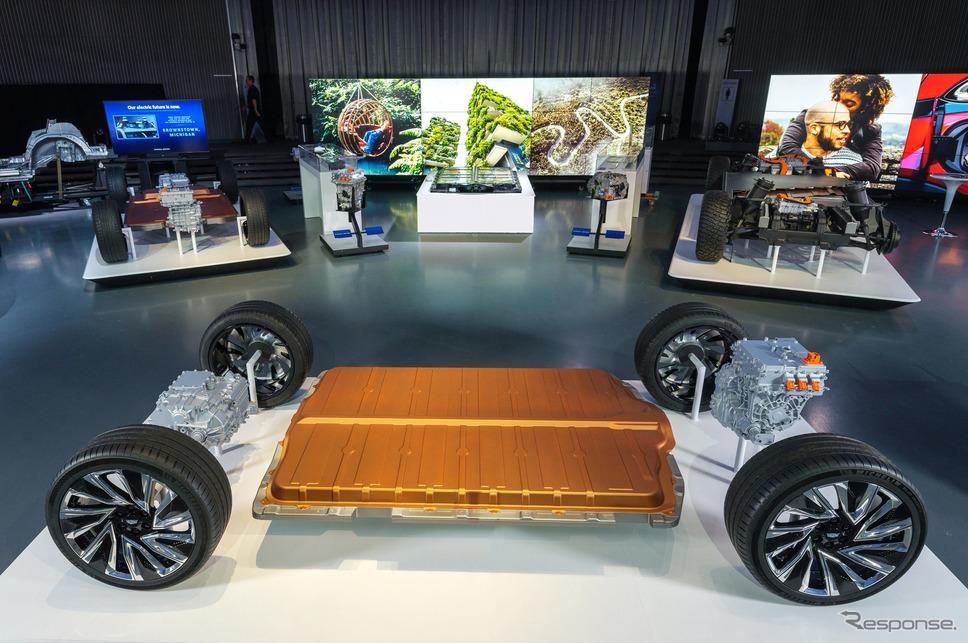 GMの次世代グローバルEVプラットフォーム《photo by GM》