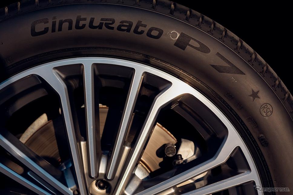 ピレリ製タイヤ《photo by Pirelli》