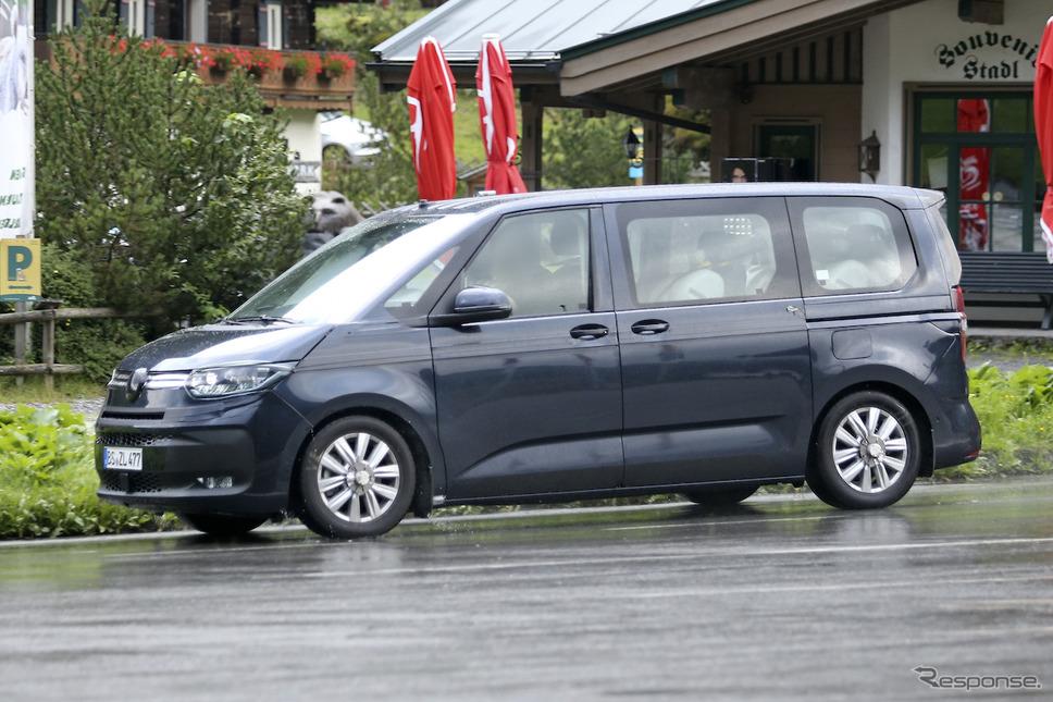 VW T7 市販型プロトタイプ(スクープ写真)《APOLLO NEWS SERVICE》