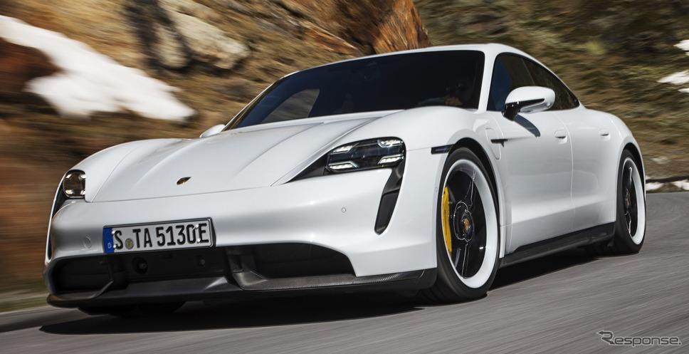 ポルシェ・タイカン・ターボS《photo by Porsche》