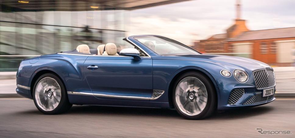 ベントレー・コンチネンタル GT マリナー・コンバーチブル 新型《photo by Bentley》