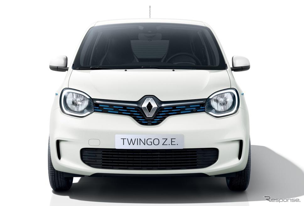 ルノー・トゥインゴ Z.E.《photo by Renault》