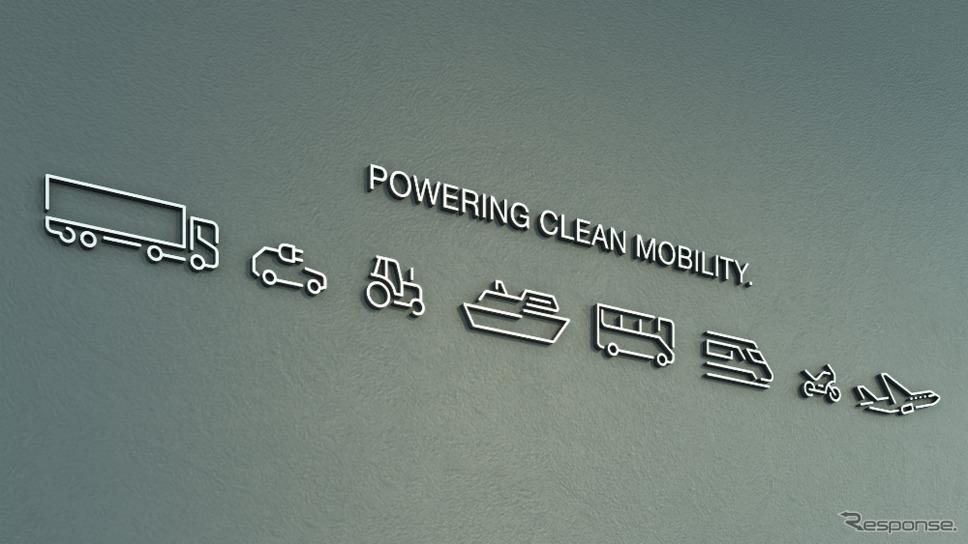 コンチネンタルのパワートレイン部門のヴィテスコ・テクノロジーのブランドイメージ《photo by Continental》