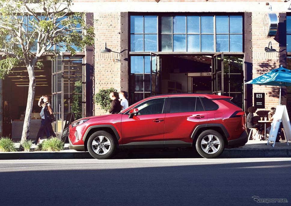 トヨタRAV4《写真提供 トヨタ自動車》