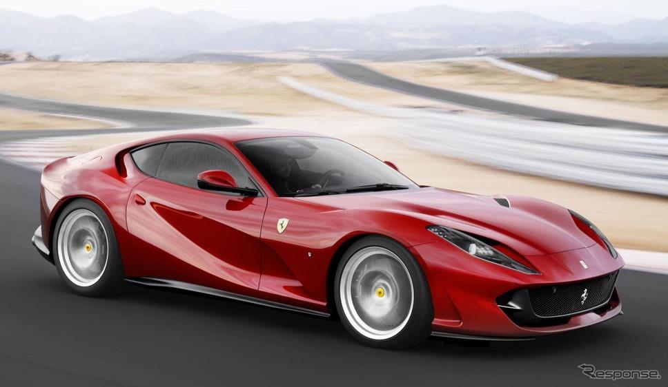 フェラーリ812スーパーファスト《photo by Ferrari》