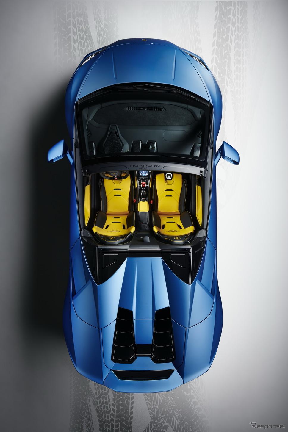 ランボルギーニ・ウラカン・エボ RWD スパイダー《photo by Lamborghini》