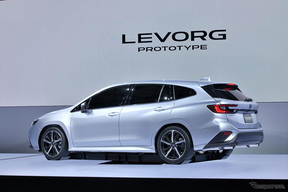 まもなく発売されるスバル・レヴォーグ(写真はプロトタイプ、東京モーターショー2019)《写真提供 スバル》