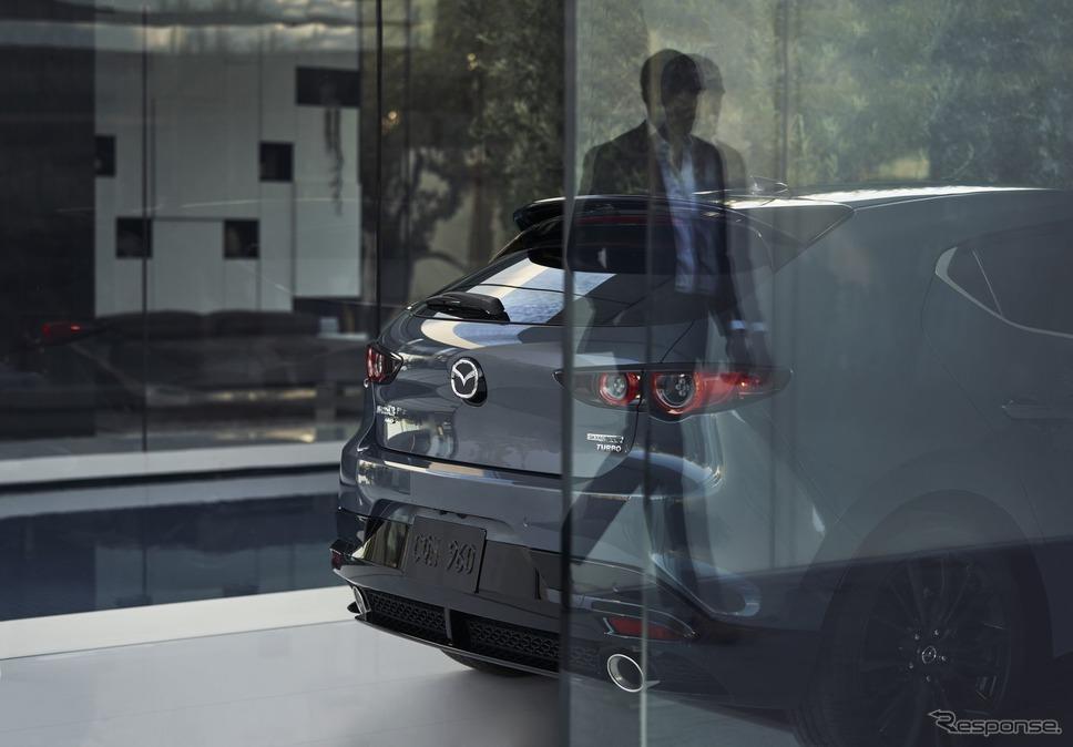 マツダ3 の2.5ターボ(北米仕様)《photo by Mazda》
