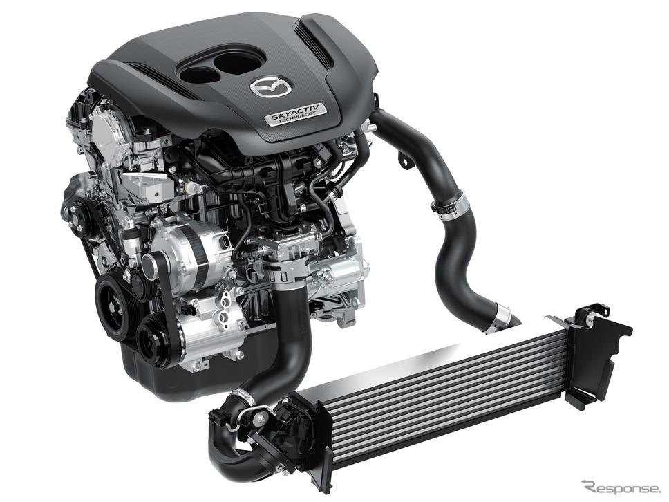 マツダの「SKYACTIV-G 2.5T」《photo by Mazda》