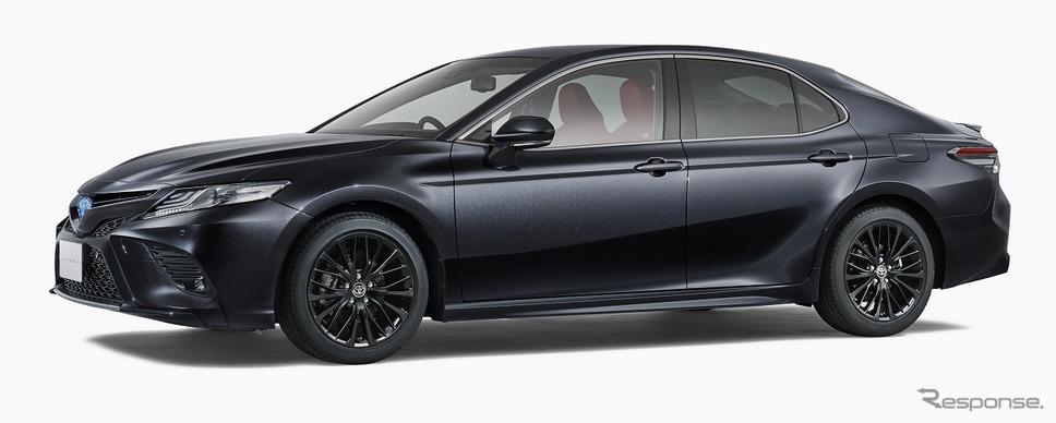 トヨタ カムリ WS ブラックエディション(プレシャスブラックパール)《写真提供 トヨタ自動車》