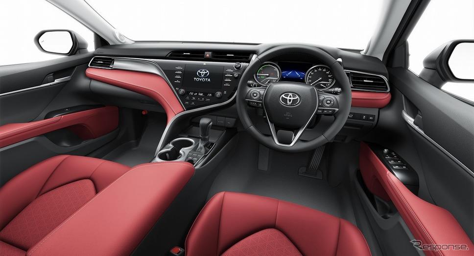 トヨタ カムリ WS ブラックエディション(内装色:レッド)《写真提供 トヨタ自動車》