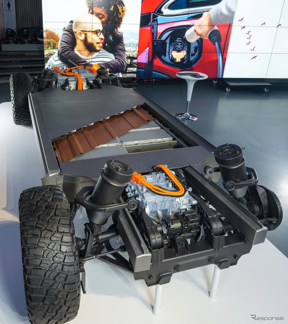 GMの新世代グローバルEVプラットフォーム《photo by GM》
