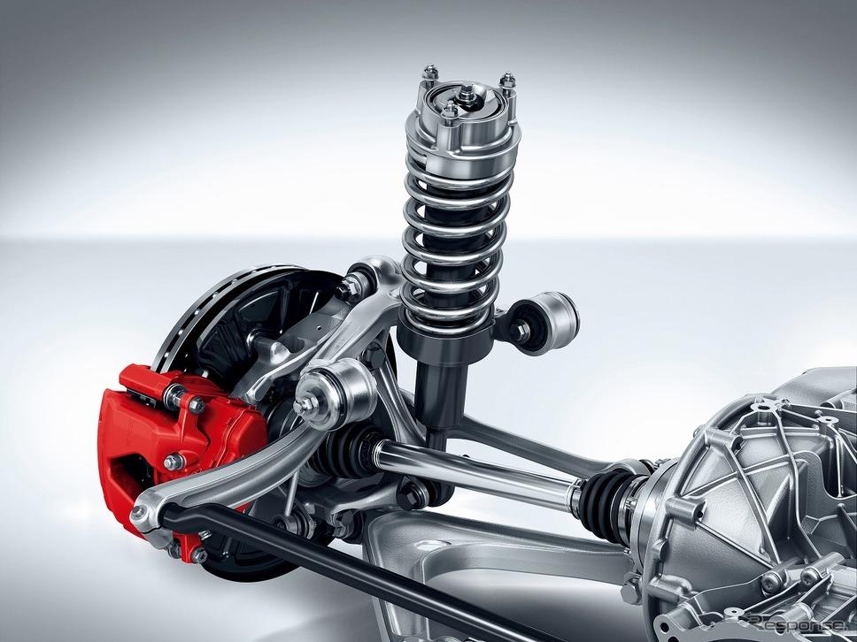 AMGライドコントロール スポーツサスペンション《写真提供 メルセデス・ベンツ日本》