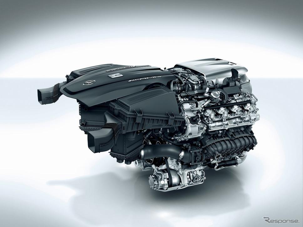 M178エンジン《写真提供 メルセデス・ベンツ日本》