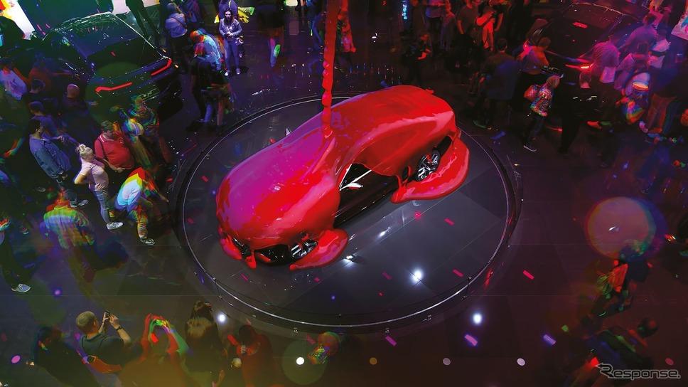BMWのフランクフルトモーターショー2019のブース《photo by BMW》