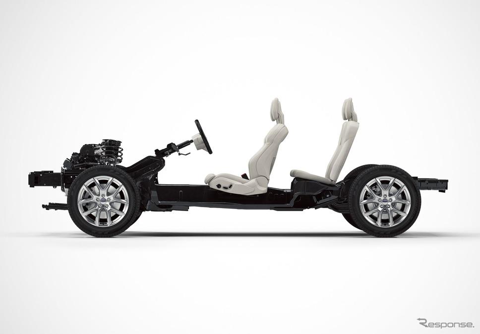 ボルボカーズの新世代の小型車向けプラットホーム「CMA」《photo by Volvo Cars》