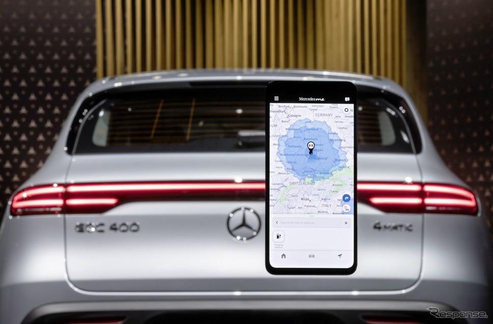 メルセデスベンツの「Mercedes me」アプリの最新版《photo by Mercedes-Benz》