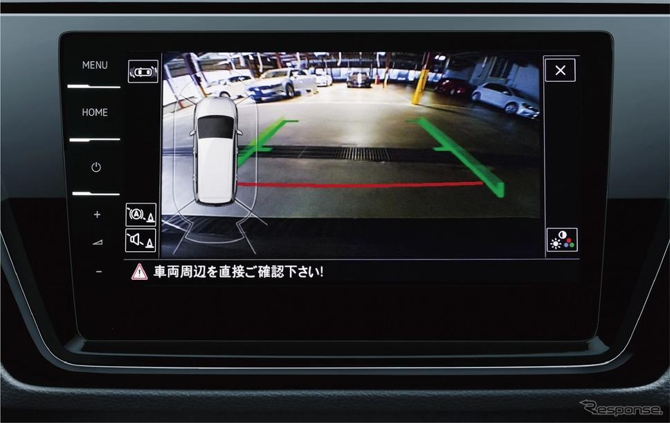 VW ゴルフ トゥーラン TSI コンフォートライン リミテッド リヤビューカメラ Rear Assist オプティカル パーキングシステム《写真提供 フォルクスワーゲン グループ ジャパン》