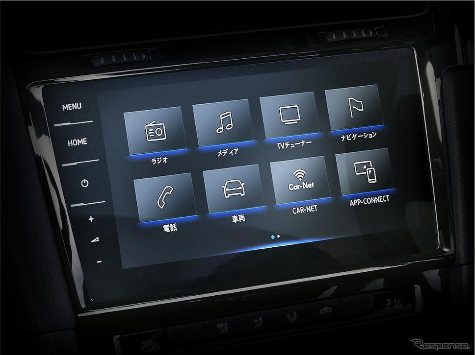 VW ゴルフ トゥーラン TSI コンフォートライン リミテッド 純正インフォテイメントシステム Discover Pro《写真提供 フォルクスワーゲン グループ ジャパン》