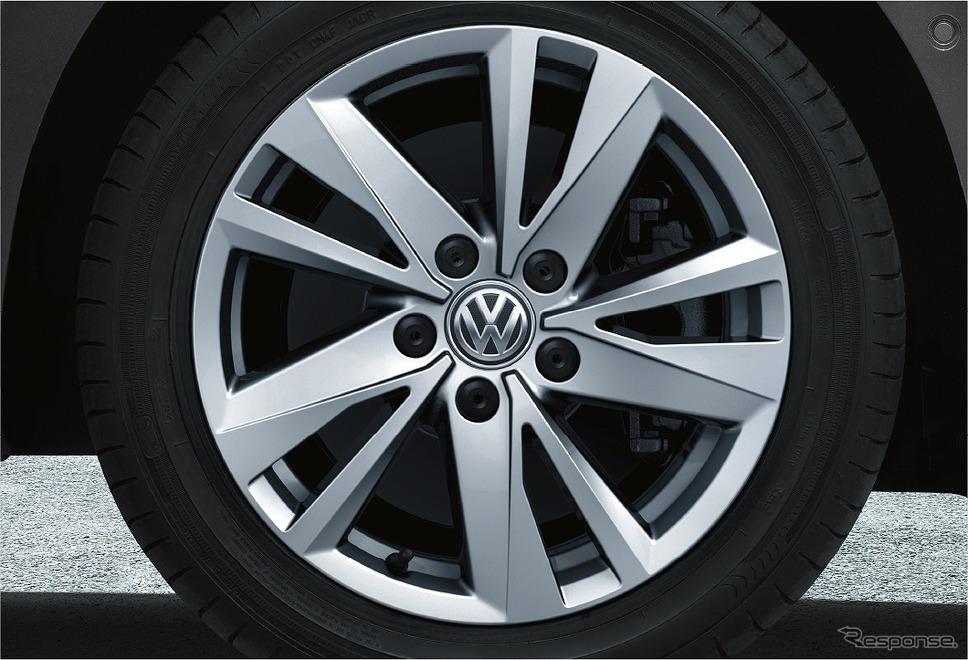 VW ゴルフ トゥーラン TSI コンフォートライン リミテッド 16インチアルミホイール《写真提供 フォルクスワーゲン グループ ジャパン》
