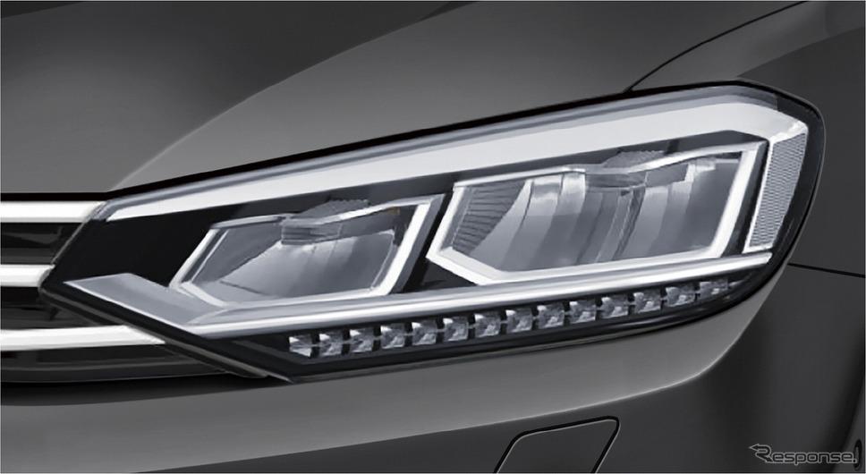 VW ゴルフ トゥーラン TSI コンフォートライン リミテッド LEDヘッドライト《写真提供 フォルクスワーゲン グループ ジャパン》