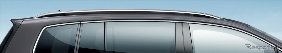 VW ゴルフ トゥーラン TSI コンフォートライン リミテッド シルバールーフレール《写真提供 フォルクスワーゲン グループ ジャパン》