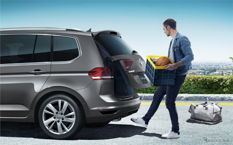 VW ゴルフ トゥーラン TSI コンフォートライン リミテッド パワーテールゲート《写真提供 フォルクスワーゲン グループ ジャパン》