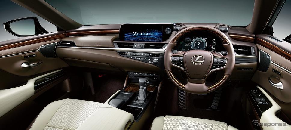 レクサス ES300h バージョンL(インテリアカラー:リッチクリーム)《写真提供 トヨタ自動車》