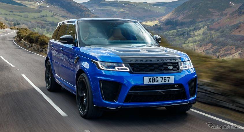 ランドローバー・レンジローバー・スポーツ SVR《photo by Jaguar Land Rover》