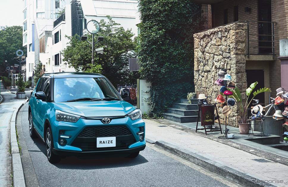 1〜6月、登録車でトヨタのベストセラー、ライズ《写真提供 トヨタ自動車》