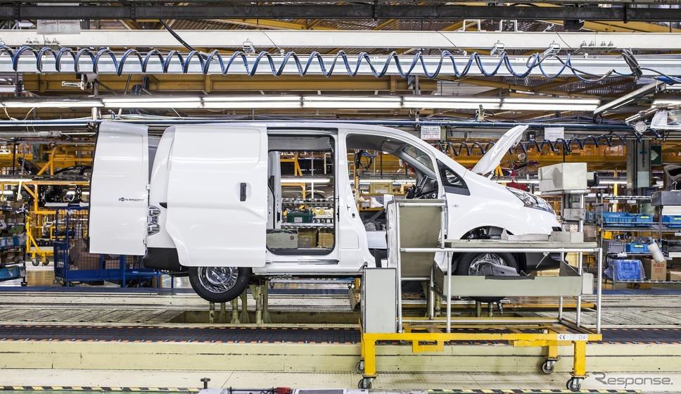 日産のスペイン・バルセロナ工場《photo by Nissan》